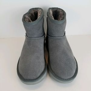 UGG Classic Mini II Women's Grey Suede Boot Size 7